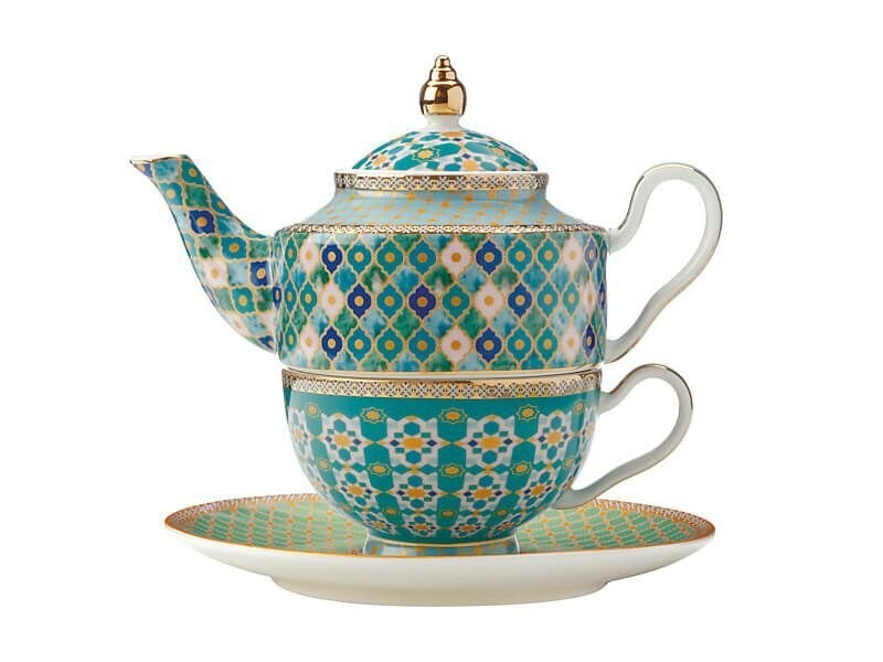 Teas & C's Kasbah Tea For 1 with Infuser 380ML Mint
