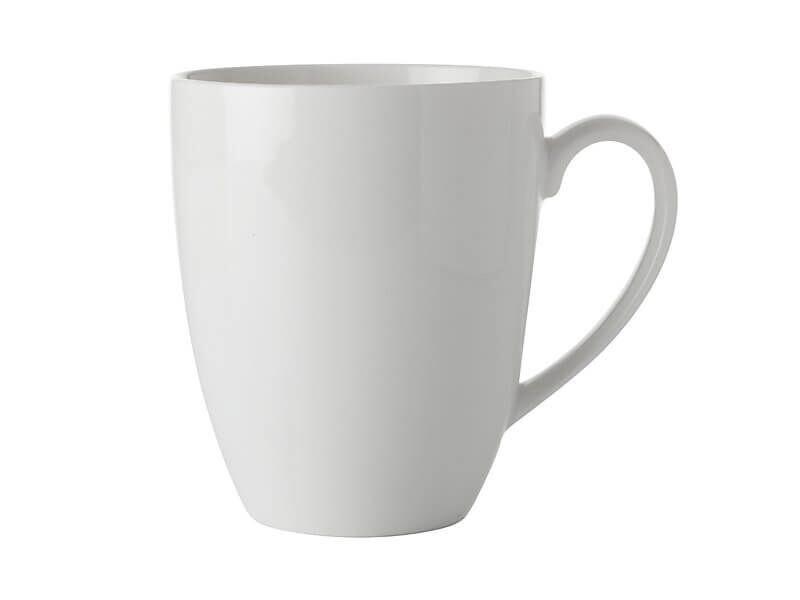 White Basics Coupe Mug 450ML