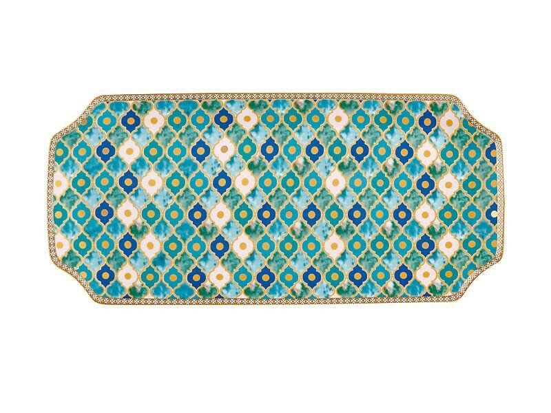 Teas & C's Kasbah Rectangle Platter 33x15.5cm Min