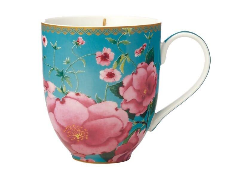 Teas & C's Silk Road Coupe Mug 440ML Aqua