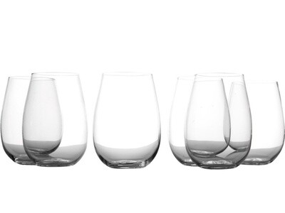 Evolve Stemless Wine 460ML Set of 6