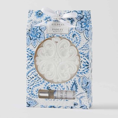 Paisley Scented Ceramic Disk