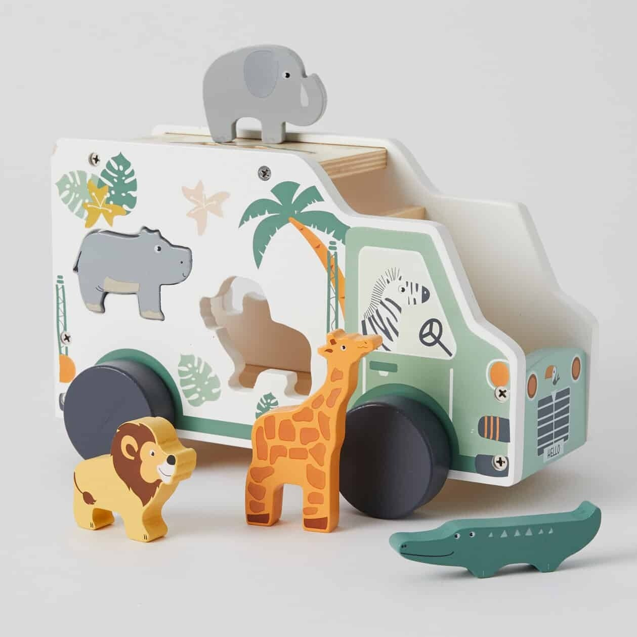 African Animal Truck