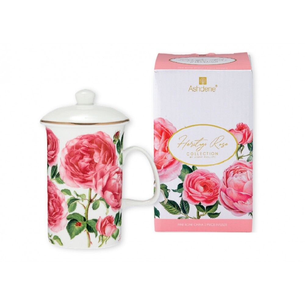 Heritage Rose 3 Piece Infuser