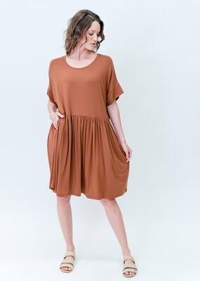 Lopez Dress Toffee O/S