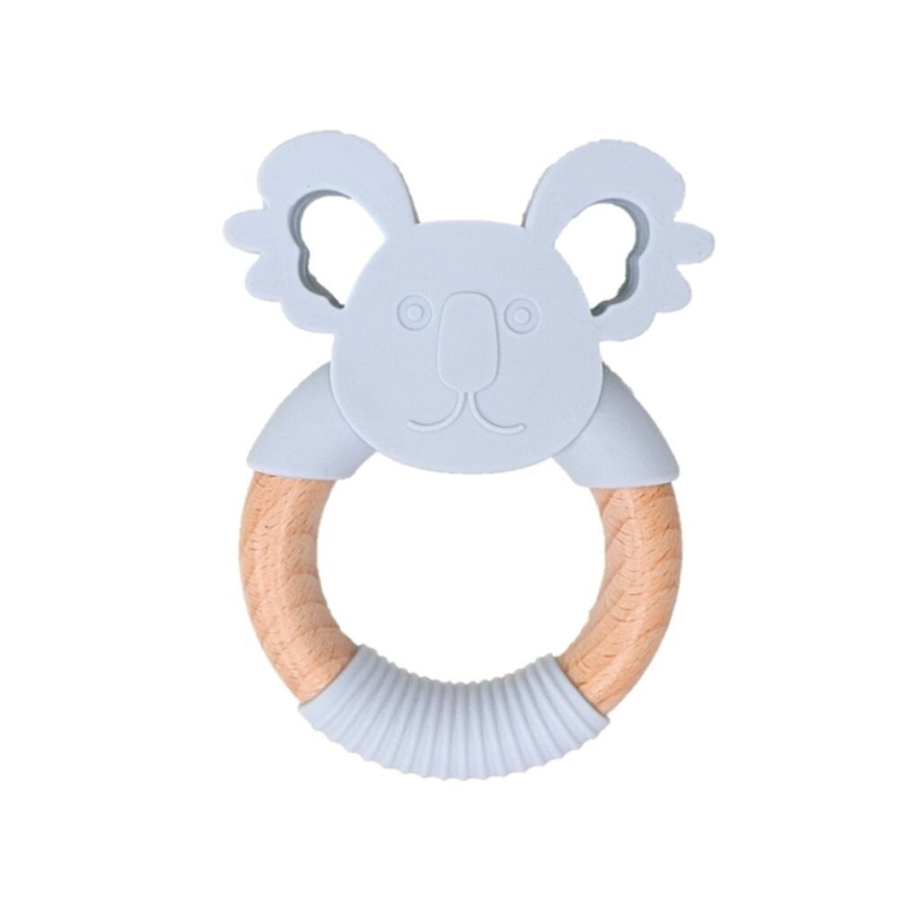 Jellies Koala Teether - Soft Grey