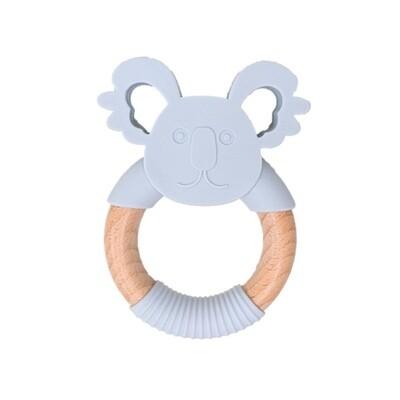 Jellies Koala Teether - Soft Grey