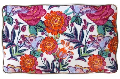 Plate Rect Vintage Tapestry