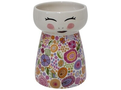 Doll Vase Floral Patch