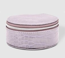 Sisco Croc Lilac Jewellery Box
