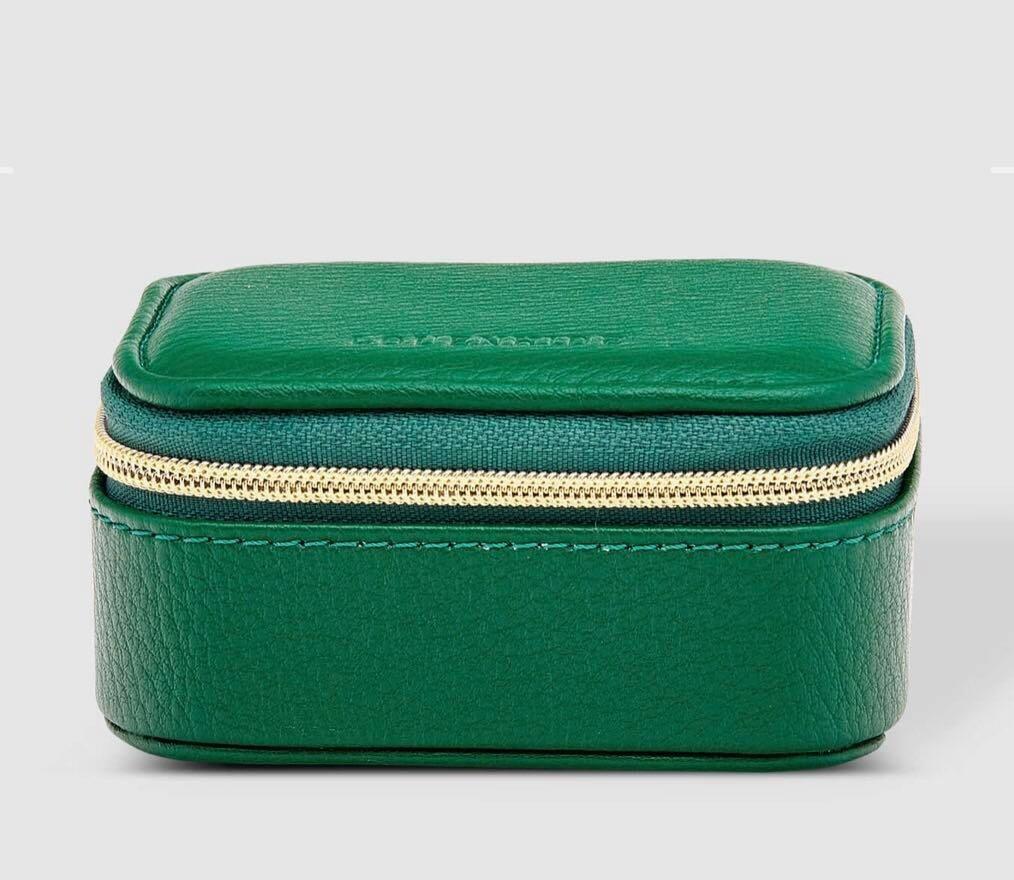 Suzie Jewellery Box Green