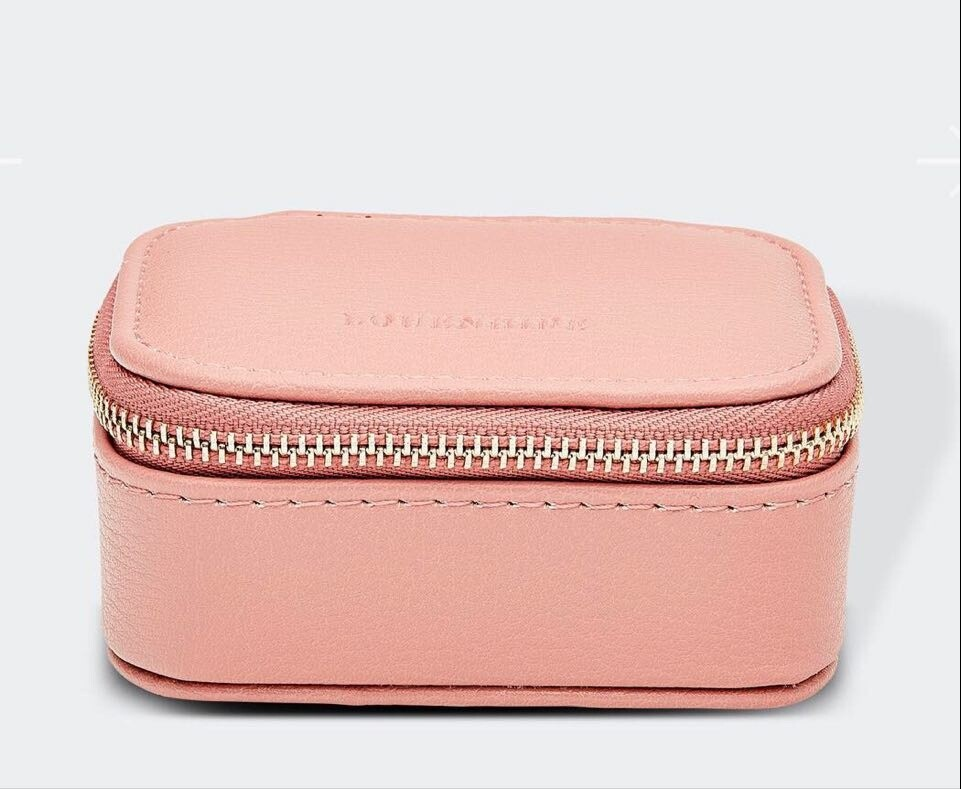 Suzie Jewellery Box Pale Pink