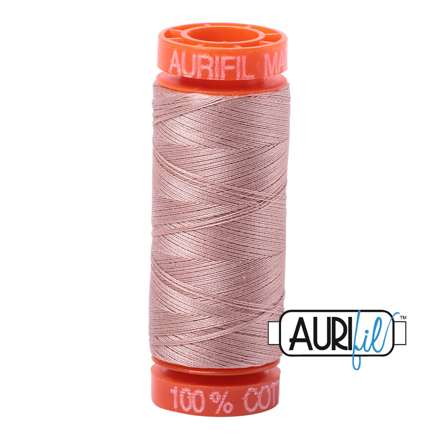 Aurifil Cotton Thread - Light Antique Blush