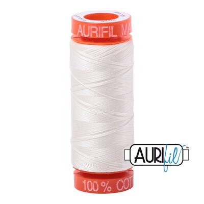 Aurifil Cotton Thread - Chalk