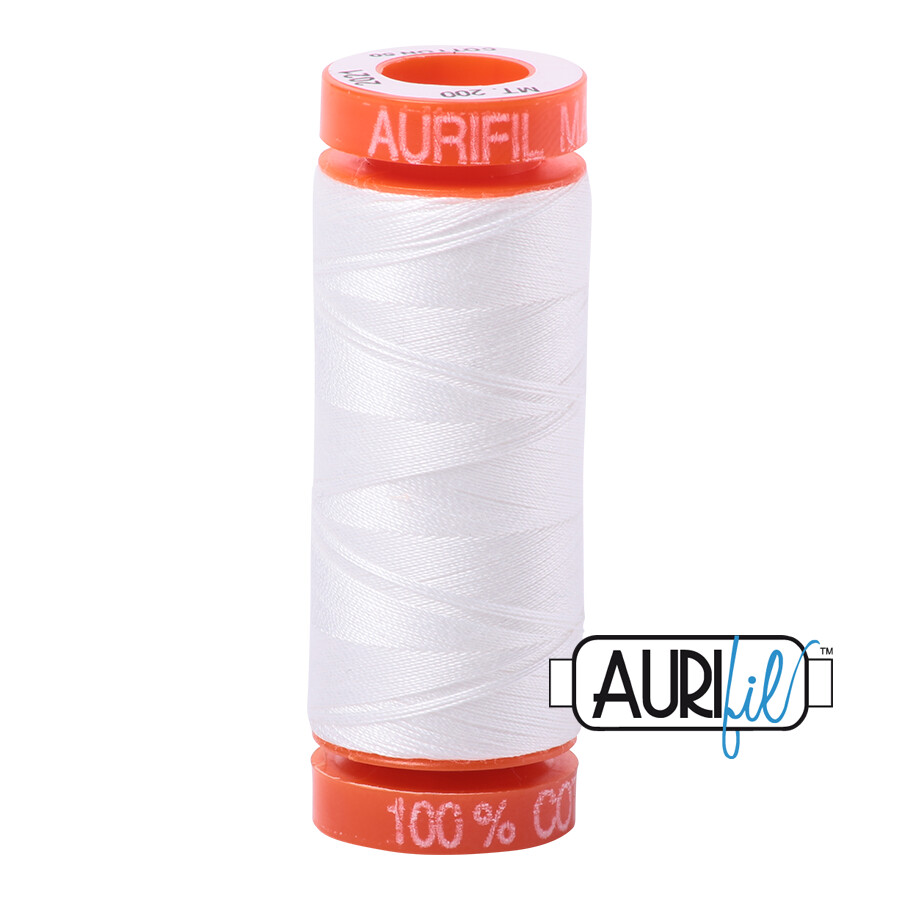Aurifil Cotton Thread - Natural White