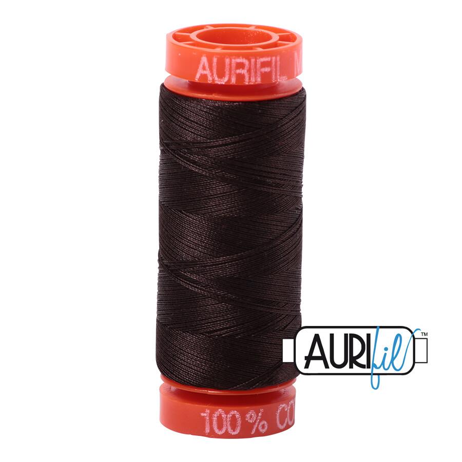 Aurifil Cotton Thread - Very Dark Bark