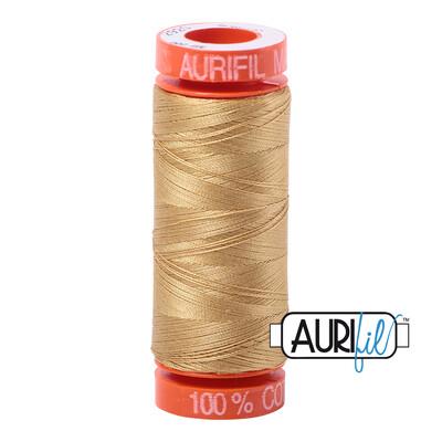 Aurifil Cotton Thread - Light Brass