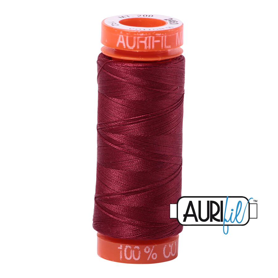 Aurifil Cotton Thread - Dark Carmine Red