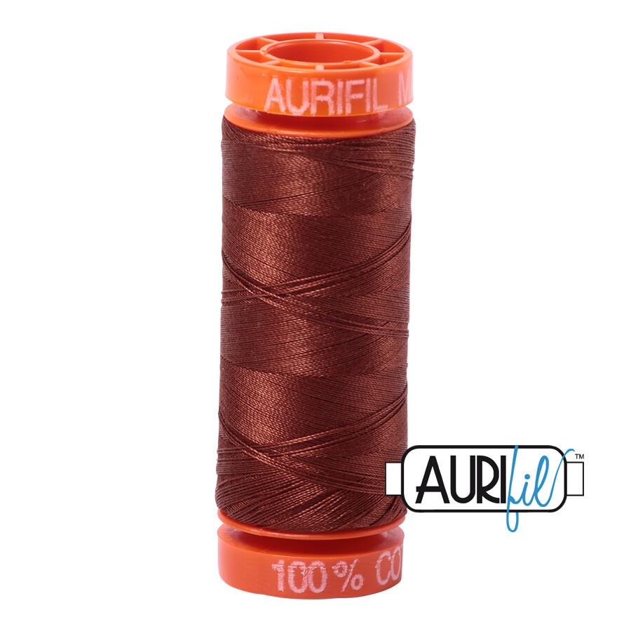 Aurifil Cotton Thread - Copper Brown