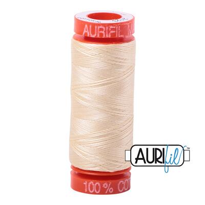Aurifil Cotton Thread - Butter