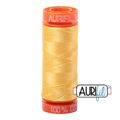 Aurifil Cotton Thread - Pale Yellow