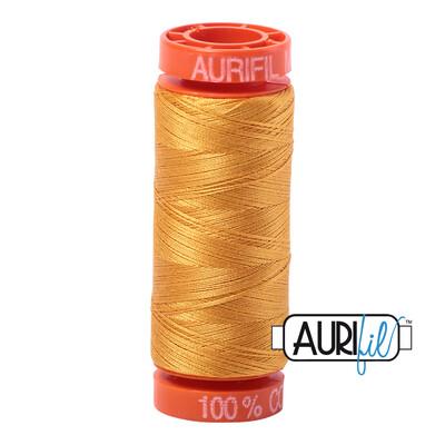 Aurifil Cotton Thread - Orange Mustard