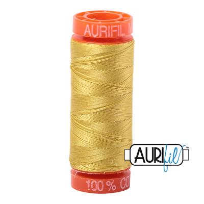 Aurifil Cotton Thread - Gold Yellow