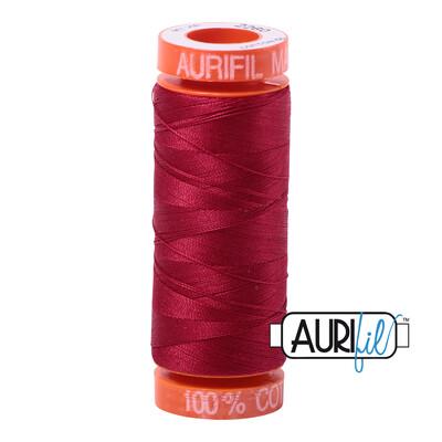 Aurifil Cotton Thread - Red Wine