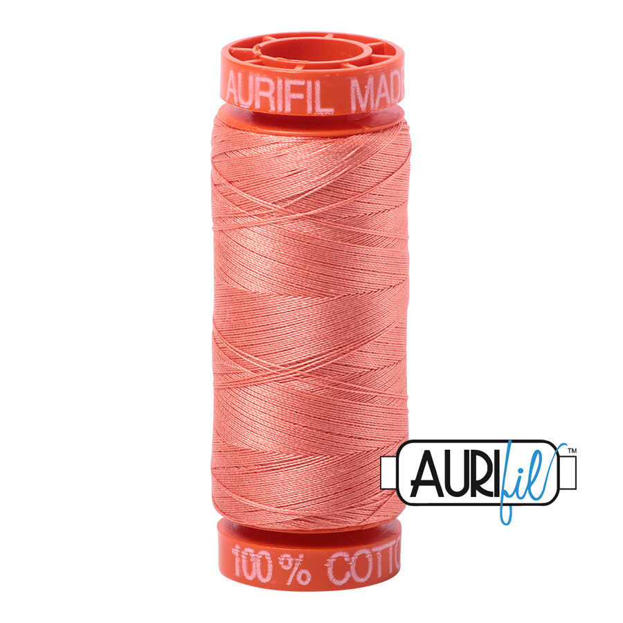 Aurifil Cotton Thread - Light Salmon