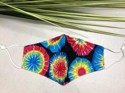 Mask Tie Dye Circles