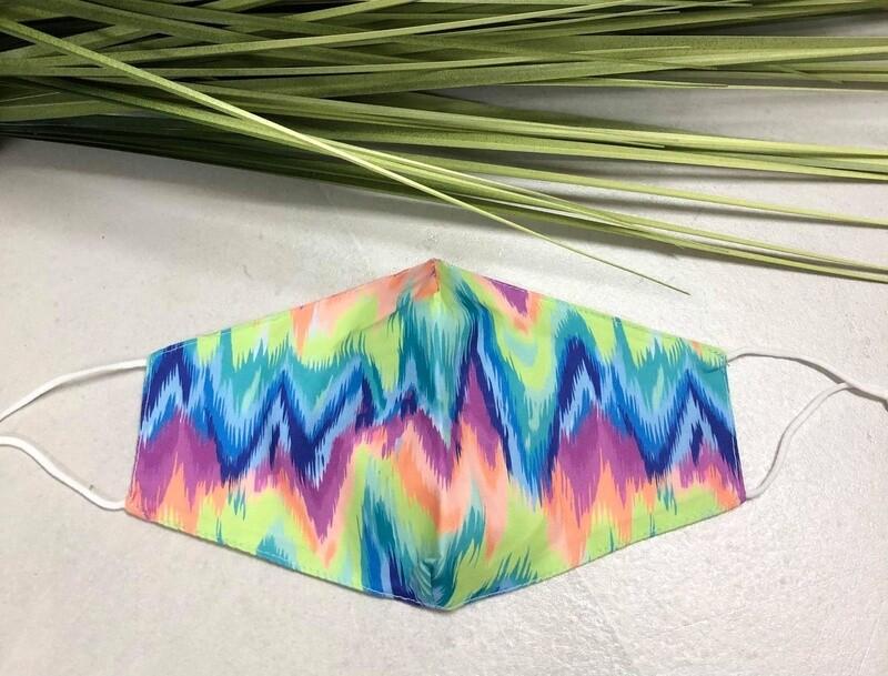 Mask Tie Dye Bright