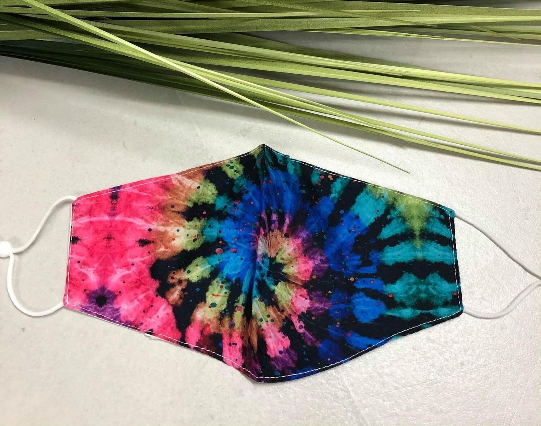 Mask Tie Dye Dark