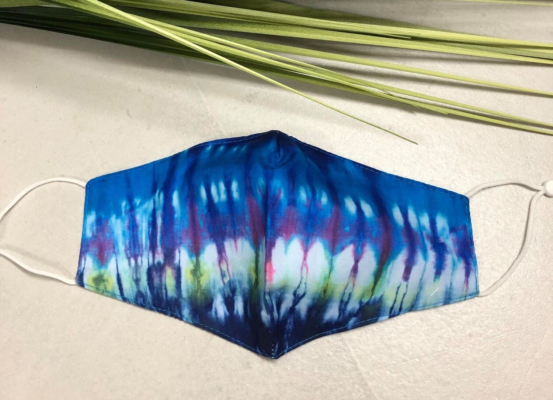 Mask Tie Dye Blue