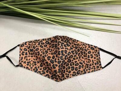 Mask Leopard Brown