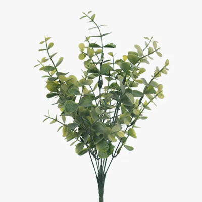 Eucalyptus Bush - Grey/Green 32cm