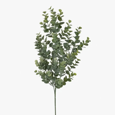 Eucalyptus Spray - Grey/Green 66cm