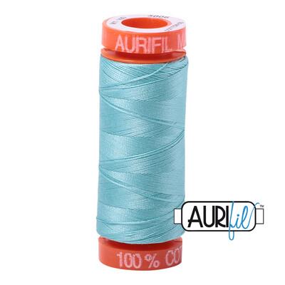 Aurifil Cotton Thread - Light Turquoise