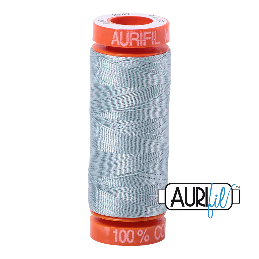 Aurifil Cotton Thread - Bright Grey Blue