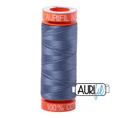 Aurifil Cotton Thread - Dark Grey Blue
