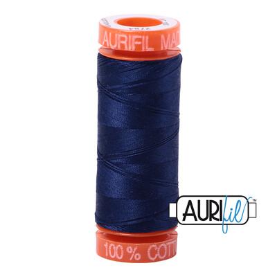 Aurifil Cotton Thread - Dark Navy