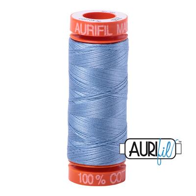 Aurifil Cotton Thread - Light Delft Blue
