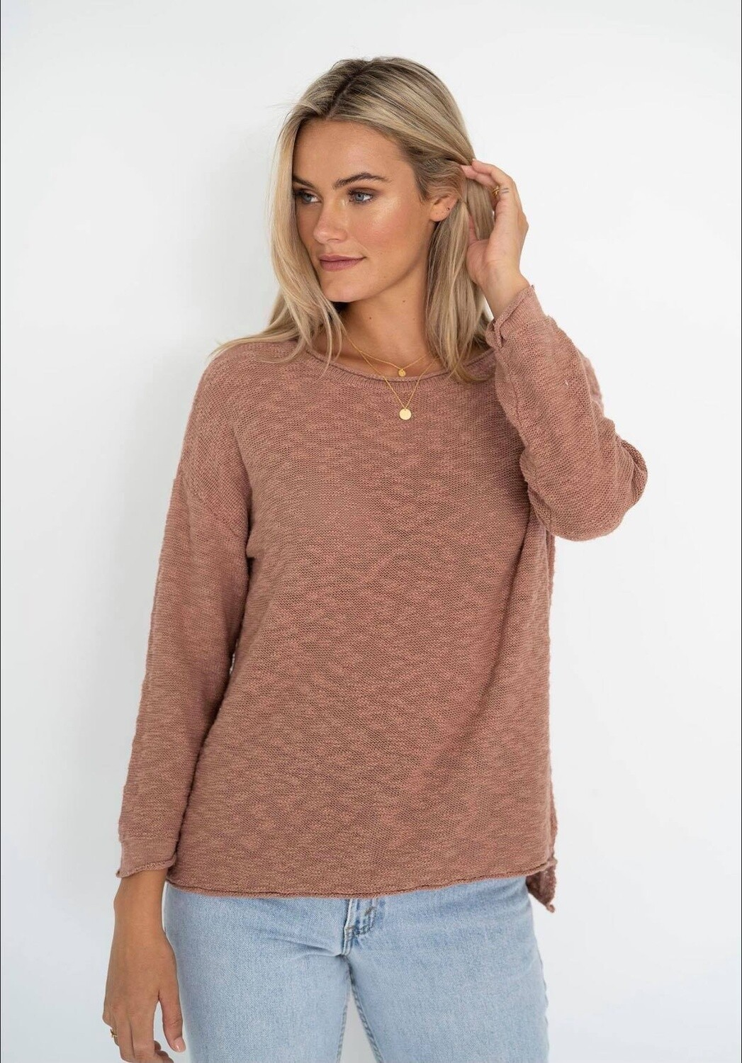 Sofia Sweater Cinnamon