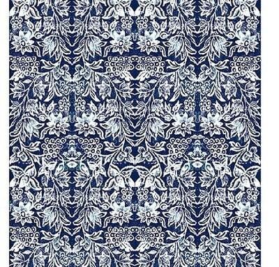 Canvas Tablecloth Indigo