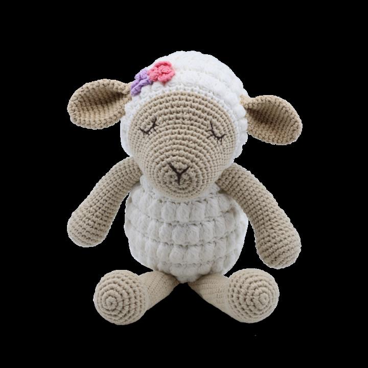 Medium Sitting Toy - Lamb