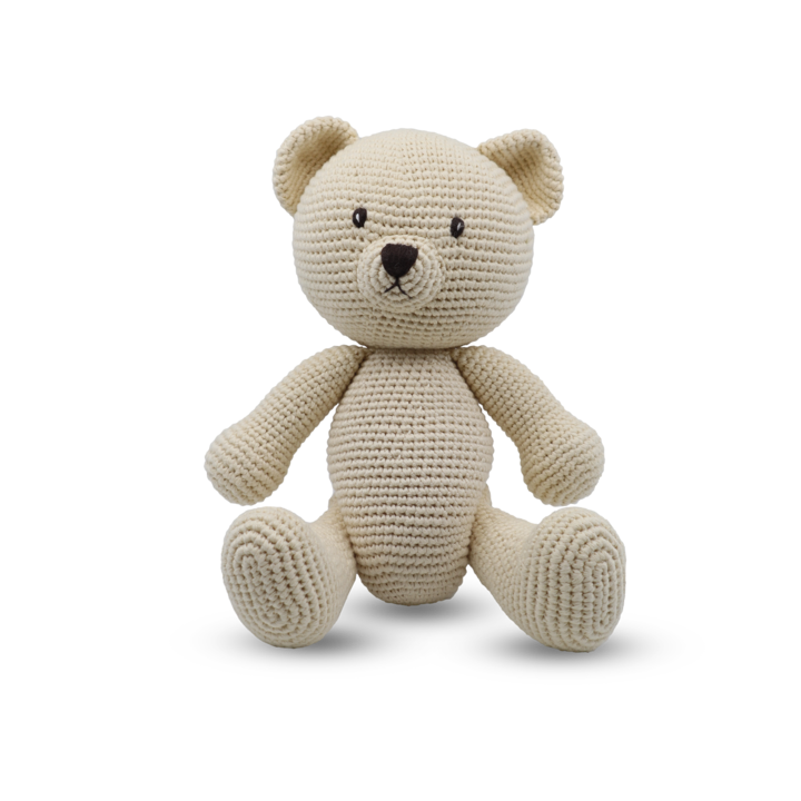 Medium Sitting Toy - Teddy
