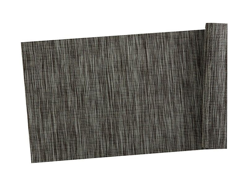 Table Accents Lurex Runner 30x150cm Grey Stripe