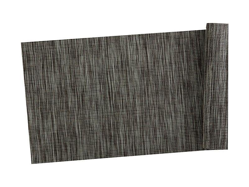 Table Accents Lurex Runner 30x150cm Grey Stripe