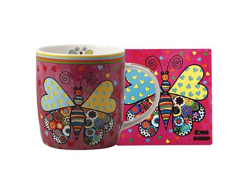 Royal Childrens Hosp UooUoo Mug 370ML & Coaster Set Gift