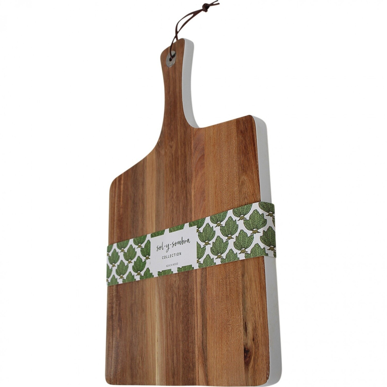 Serving Board Paddle White Edge