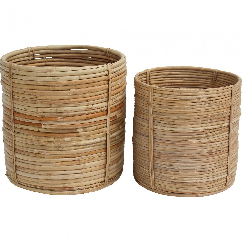 Basket Planter Rattan - Small